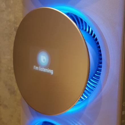 Klimaanlage mit Mini-Bildschirm und Anzeige: I'm listening